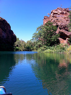 Lawn Hill Gorge, Gregory River, Queensland